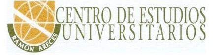 logo Centro de estudios universitarios Ramon Areces